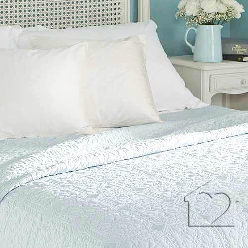 Victoria Duck Egg Bedspread Superking, What Size Is A Super King Bedspread